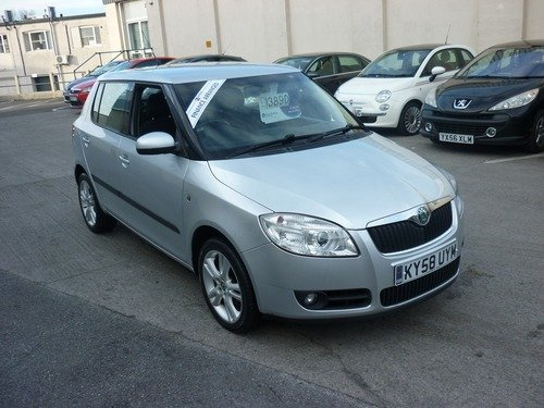 Skoda Fabia 1.4 TDI 3 80BHP Finance Available