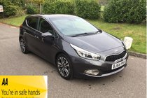 Kia Ceed 4 TECH FULL SERVICE HISTORY AUTOMATIC SAT NAV BLUETOOTH