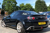 Mazda RX8 1.3 (192 BHP) ** WOW ONLY 52K GENUINE MILES + HEATED ELECTRIC LEATHER + BOSE SOUND SYSTEM **