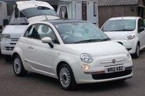 Fiat 500 LOUNGE ONLY 18,000 MILES SERVICE HISTORY