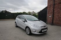 Ford Fiesta TITANIUM FULL SERVICE HISTORY ! ONLY 56,565 MILES FROM NEW ! TOP SPEC MODEL !