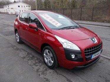 Peugeot 3008 1.6 HDI SPORT BUY NO DEP & £32 A WEEK T&C