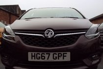 Vauxhall Zafira Tourer 1.4T SRI 140 6SP SAT NAV LEATHER