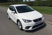 SEAT Ibiza TSI SE FULL SERVICE HISTORY SAT NAV BLUETOOTH AND AIR CONDITIONING