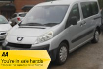 Peugeot Expert TEPEE COMFORT L1 HDI 90 6STR - Practicality is a major strength of this vehicle, along with the addition of wheelchair access!